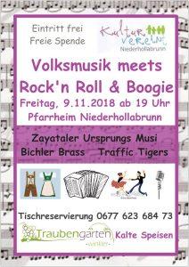 Volksmusik meets Rock´n Roll und Boogie